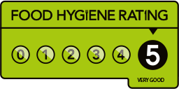 Food Hygiene Rating 5 symbol